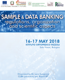 SAMPLE & DATA BANKING: REGULATIONS, ORGANIZATION AND SCIENTIFIC ASPECTS